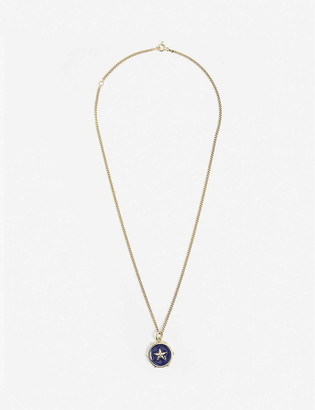 Tilly Sveaas Ltd Star gold-plated sterling silver necklace