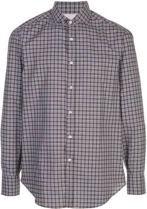 Brunello Cucinelli classic plaid shirt