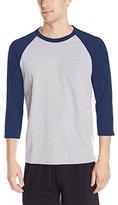Hanes Men's X-Temp Baseball T-Shirt