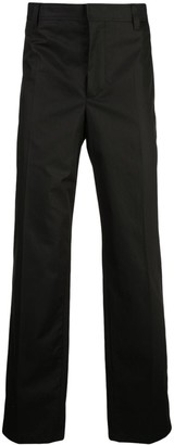Burberry Contrast Side Print Trousers