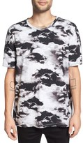 Zanerobe 'Cloud Rugger' Print Oversize Crewneck T-Shirt