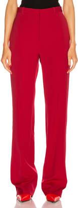 Balenciaga Tailored Pant in Masai Red | FWRD