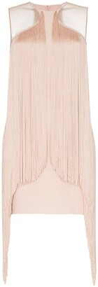 Stella McCartney Fringe Trim Bodycon Mini Dress