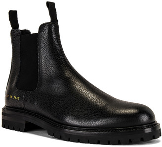 Common Projects Winter Chelsea Bumpy Boot in Black | FWRD