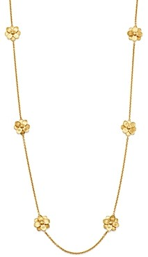 Marco Bicego 18K Yellow Gold Petali Long Station Necklace, 36