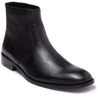 Kenneth Cole Leather Zip-Up Boot
