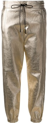 Saint Laurent Metallic Track Pants