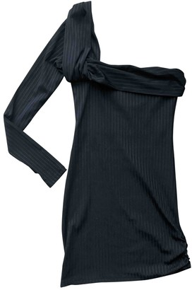 Baja East Black Polyester Dresses