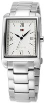 Tommy Hilfiger Men's 1710094 Silver Dial Stainless Steel Bracelet WatchStainless Steel Bracelet Watch