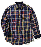 Daniel Cremieux Long-Sleeve Plaid Elbow-Patch Woven Shirt