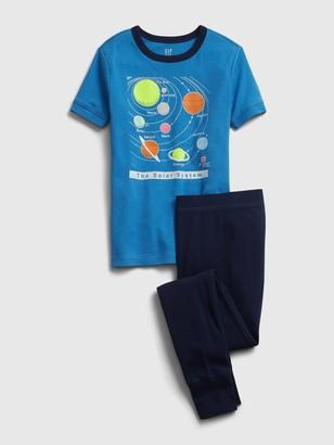 Gap Kids Organic Solar System PJ Set