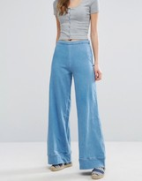 WÅVEN Nella Denim Wide Leg Jeans