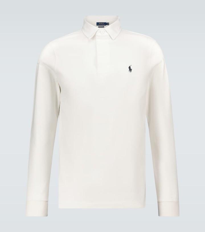 Polo Ralph Lauren Cotton-jersey rugby shirt