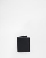 Sandqvist Dow Vertical Leather Wallet - Black