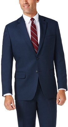 Haggar Men's Travel Performance Tailored Fit Stretch Suit Jacket