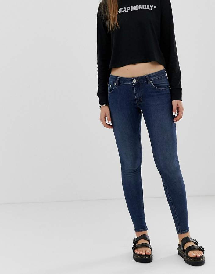 Cheap Monday Second Skin low rise skinny jeans