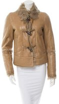 Louis Vuitton Shearling Leather Jacket