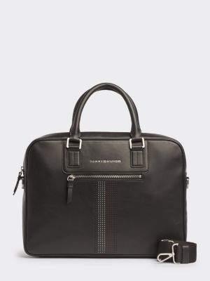 Tommy Hilfiger Business Leather Computer Bag