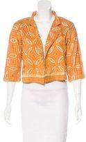 Dries Van Noten Silk Embroidered Jacket