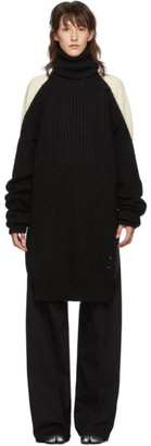 Maison Margiela Black Oversized Turtleneck