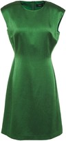 Theory Hammered Satin Mini Dress