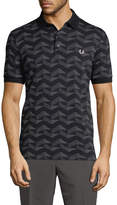 Fred Perry Men's Patterned Polo Shirt