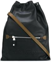 Salvatore Ferragamo drawstring fastening backpack - men - Calf Leather - One Size