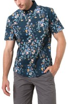 7 Diamonds Men's Meadows Floral Print Shirt