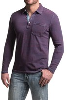 True Grit Striped Polo Shirt - Long Sleeve (For Men)