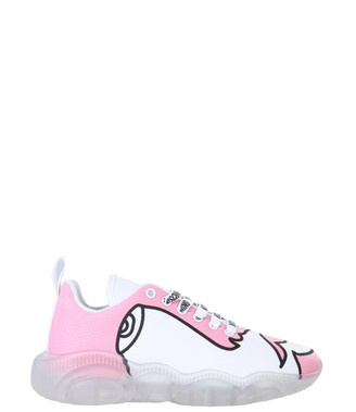 Moschino Drawing Teddy Sneakers