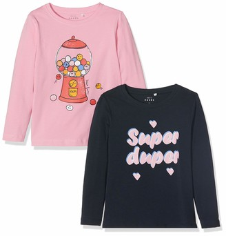 Name It Baby Girls' Nmfvix 2p Ls Top L Long Sleeve
