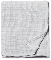 Melange Home Cross-Stitched Blanket