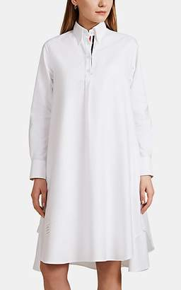 Thom Browne Women's Cotton Oxford Shirtdress - White