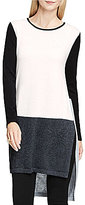 Vince Camuto Long Sleeve Colorblocked Sweater Tunic