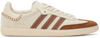 Wales Bonner Off-White and Brown adidas Originals Samba Sneakers