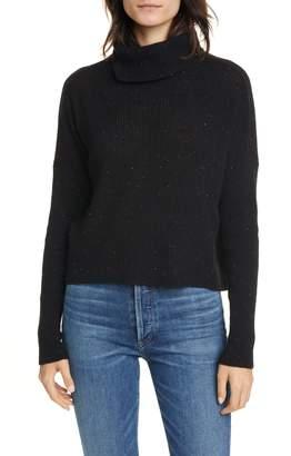 Line Beatrice Rib Nep Cashmere Turtleneck Sweater