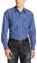Wrangler Men's Retro Western Long Sleeve Woven Shirt