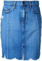 Nobody Denim - Tilda Skirt Roughed Up - women - Cotton - 24