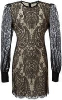 Alexander McQueen lace dress - women - Silk/Cotton/Polyamide - 48
