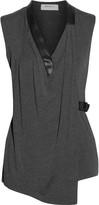 Bailey 44 Wrap-effect jersey top