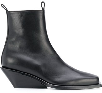 Ann Demeulemeester Tapered Heel Ankle Boots