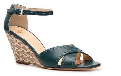 Giuseppe Zanotti Leather Wedge Sandal