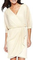 JCPenney Faux-Wrap Sweater Dress