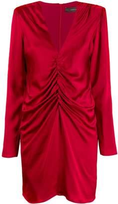 FEDERICA TOSI draped mini dress