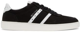 Paul Smith Black Nubuck Raffi Sneakers