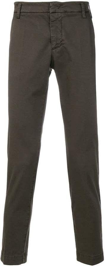 Entre Amis cropped chino trousers