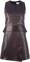 Carven high shine striped dress