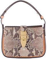 Tory Burch Snakeskin & Leather Handle Bag