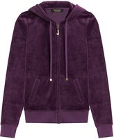 Juicy Couture J Bling Velour Hoodie