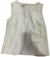 Hobbs White Lace Top for Women